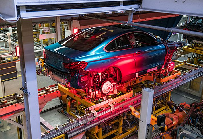 Connected Supply Chain von EURO-LOG bei BMW